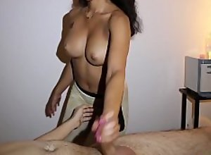 When will he cum? ShadySpa Maya Video