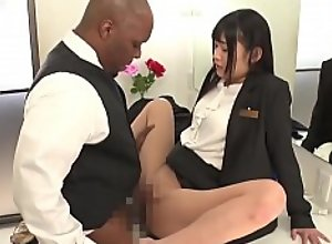 Japanese employees are happy to serve Black..
