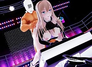 Hibikase Sex Dance [R-18 MMD] Remastered