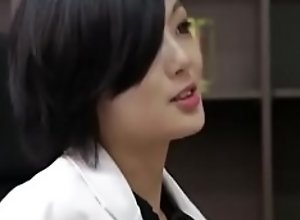 Asian nurse with high heels fuck her patient