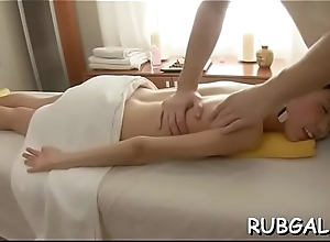 Erection splotch massage